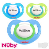Nûby Classic, orthodontique, silicone