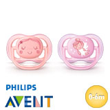Philips Avent Ultra Air, symétrique, silicone, taille 1